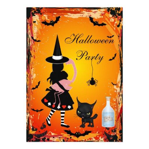 Alice no partido do Dia das Bruxas do país das Convite