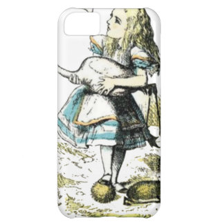 Alice & o flamingo capa para iPhone 5C