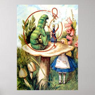 Alice procura o conselho de Caterpillar Pôster