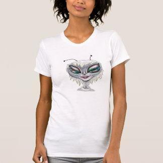 alien rabbit camiseta