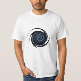 Alienígena azul camiseta