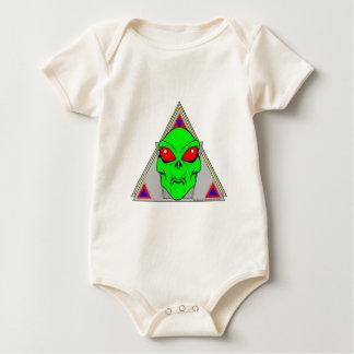 Alienígena Body Para Bebê