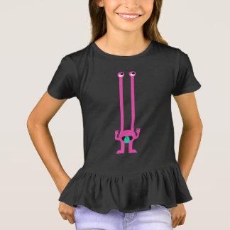 Alienígena cor-de-rosa insolente camiseta