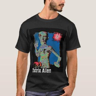 Alienígena da matriz camiseta