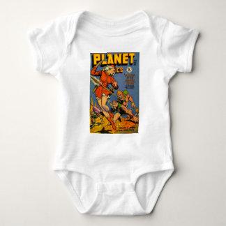 Alienígena de jogo da lança body para bebê