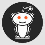 Alienígena de Reddit Adesivo