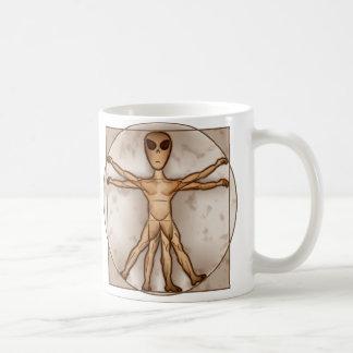 Alienígena de Vitruvian Caneca De Café