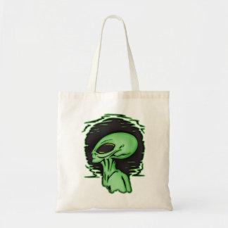 Alienígena e planeta bolsas