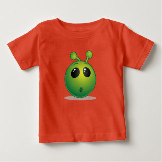 Alienígena fina do t-shirt do jérsei do bebê camiseta para bebê
