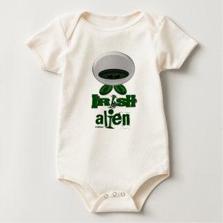Alienígena irlandesa body para bebê