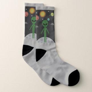 Alienígena nas meias da lua