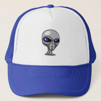Alienígena, o cinza, boné de beisebol