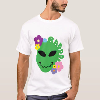 alienígena radical camiseta