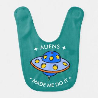Aliens engraçados bonitos do UFO | Babador