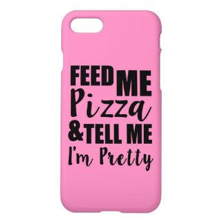 Alimente-me a pizza e diga-me que eu sou provérbio capa iPhone 8/7