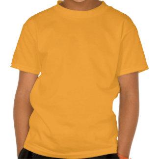 ALINHADOR LONGITUDINAL BEGE ALARANJADO da T-shirt