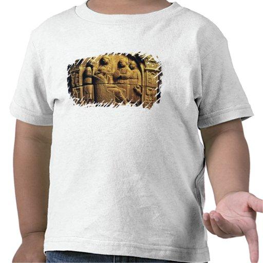 Alivio de Bas de um cabeleireiro, romano Tshirt