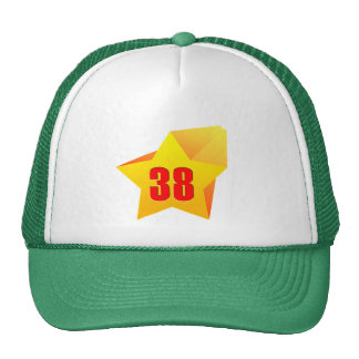 All Star trinta e oito anos velho! Aniversário Bonés