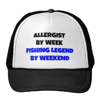 Allergist da legenda da pesca bone
