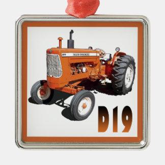 Allis-Chalmers D19 Ornamento Quadrado Cor Prata