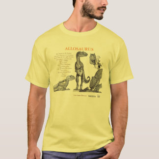 Allosaurus sua camisa interna Gregory Paul do