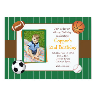 Allstar ostenta o convite do aniversário