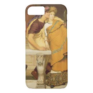 Alma-Tadema | o espelho, 1868 Capa iPhone 7