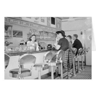 Almoço Contador 1941 Cartoes