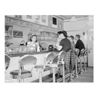 Almoço Contador 1941 Cartão Postal
