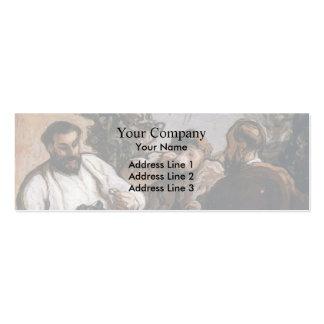 Almoço de Honore Daumier- no país Cartao De Visita