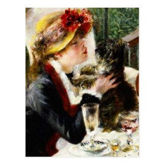 Almoço de Renoir do cartão do partido do barco Cartões Postais