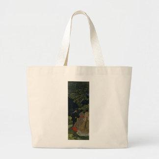 Almoço na grama, painel esquerdo (1865) bolsa para compras
