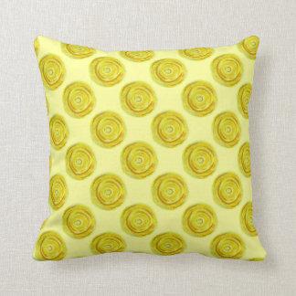 Almofada 3rd-solar trabalhos de arte amarelos do plexo