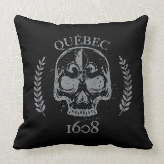Almofada 50cmx50cm Quebeque skull/crânio biker