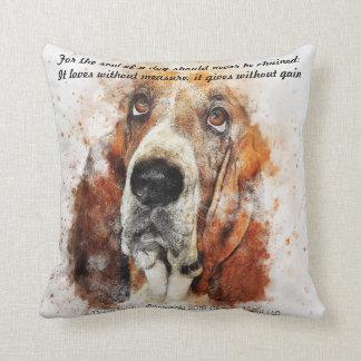 Almofada A alma de um cão