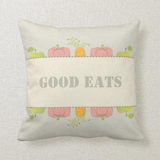 Almofada A boa comida e bons os iguais Home bons comem