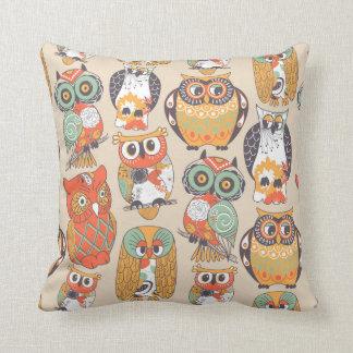 Almofada A coruja seja coxim do travesseiro decorativo da