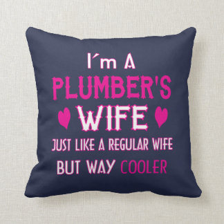 Almofada A esposa do canalizador
