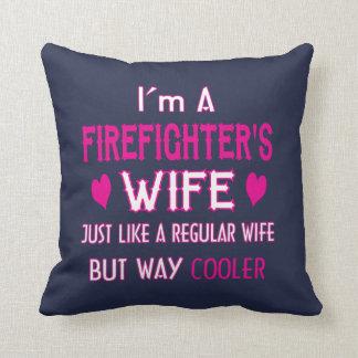 Almofada A esposa do sapador-bombeiro