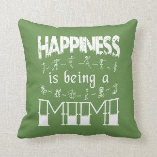 Almofada A felicidade está sendo um MIMI