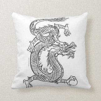 Almofada A lápis chinês fantasia oriental do dragão do