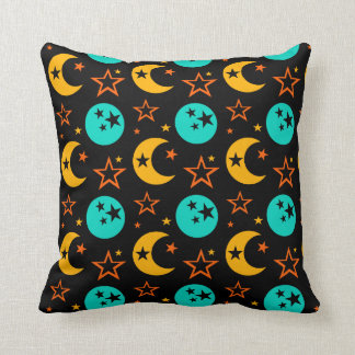 Almofada A lua Stars a astrologia estrelado Wiccan da