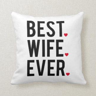 Almofada A melhor esposa nunca