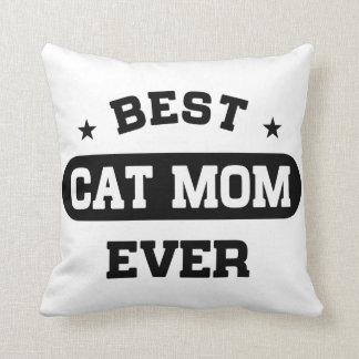 Almofada A melhor mamã do gato nunca