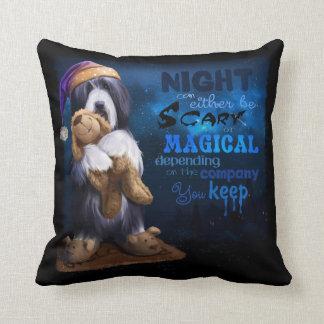 Almofada A noite do cão
