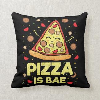 Almofada A pizza é Bae - desenhos animados engraçados