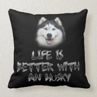 Almofada A vida é melhor com um rouco