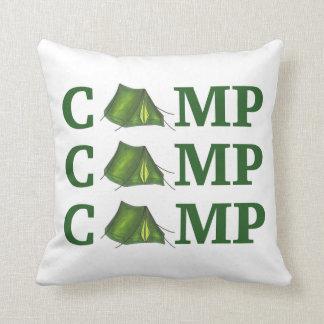 Almofada Acampamento de verão da barraca do ACAMPAMENTO