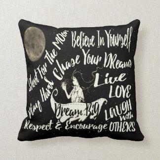 Almofada Acredite em o senhor mesmo o travesseiro ideal do