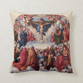 Almofada Adoração da trindade por Albrecht Durer, 1511